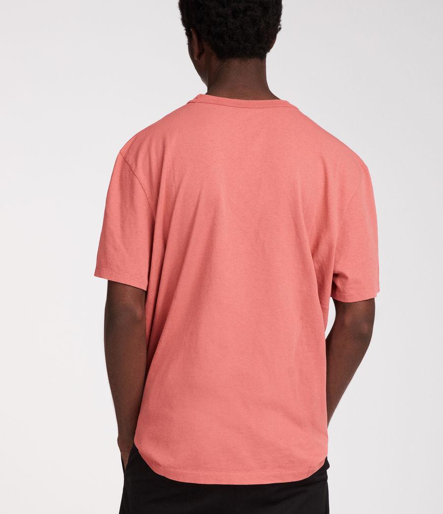Men's Interger Crew T-Shirt (pink) - Image 4