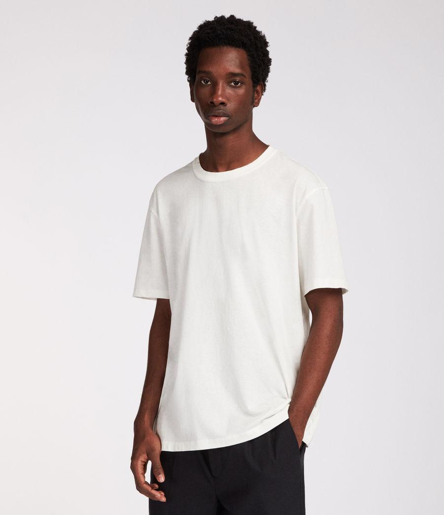 Mens Interger Crew T-Shirt (chalk_white) - Image 1