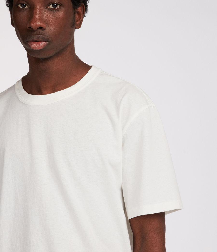 Mens Interger Crew T-Shirt (chalk_white) - Image 3