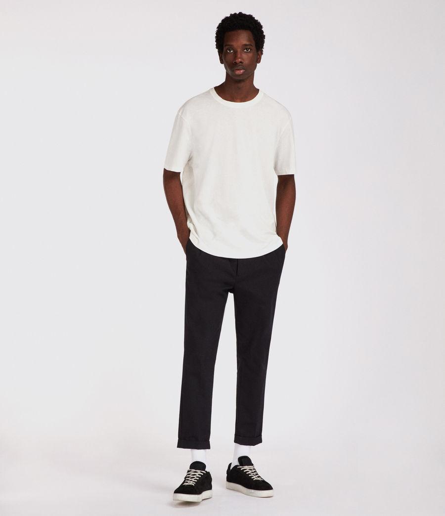 Mens Interger Crew T-Shirt (chalk_white) - Image 4