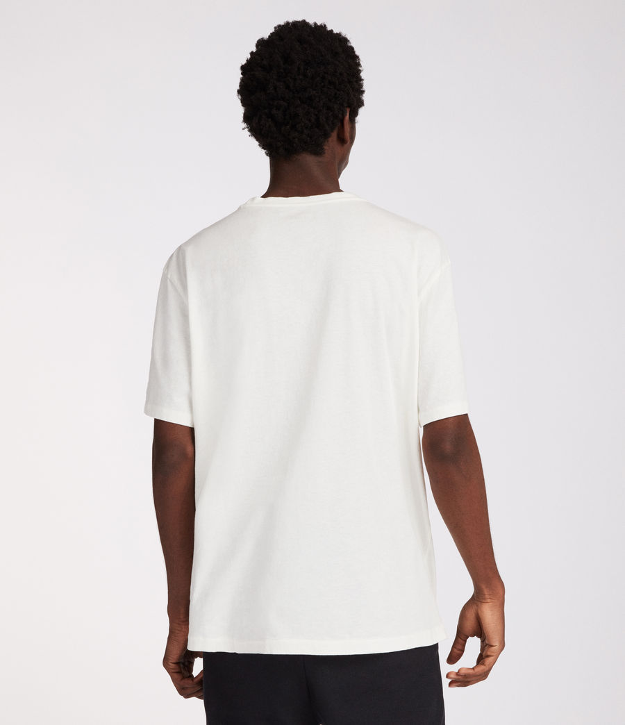 Mens Interger Crew T-Shirt (chalk_white) - Image 5