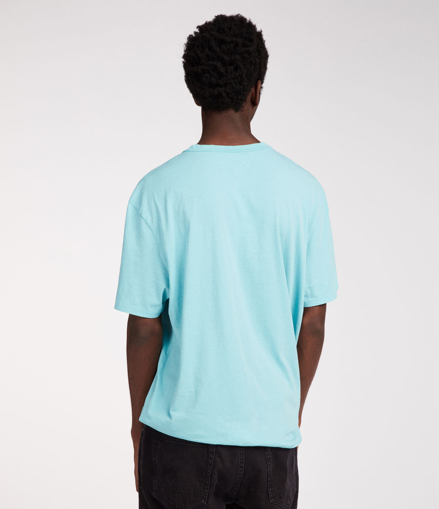 Men's Interger Crew T-Shirt (coach_blue) - Image 4