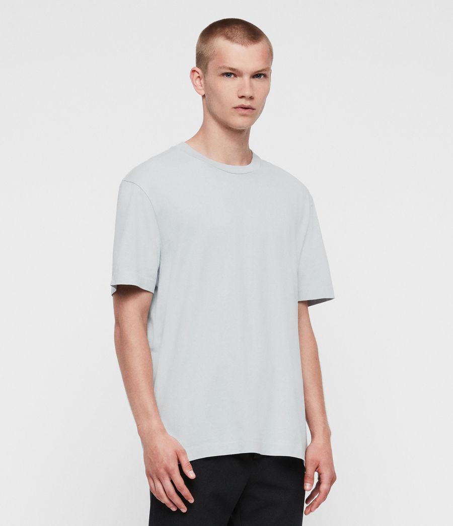 Men's Musica Crew T-Shirt (washed_fresh_pink) - Image 1