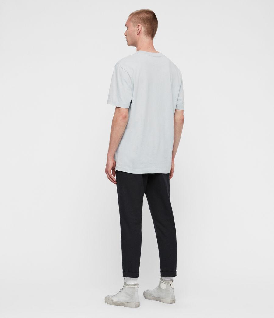 Mens Musica Crew T-Shirt (jet_black) - Image 5