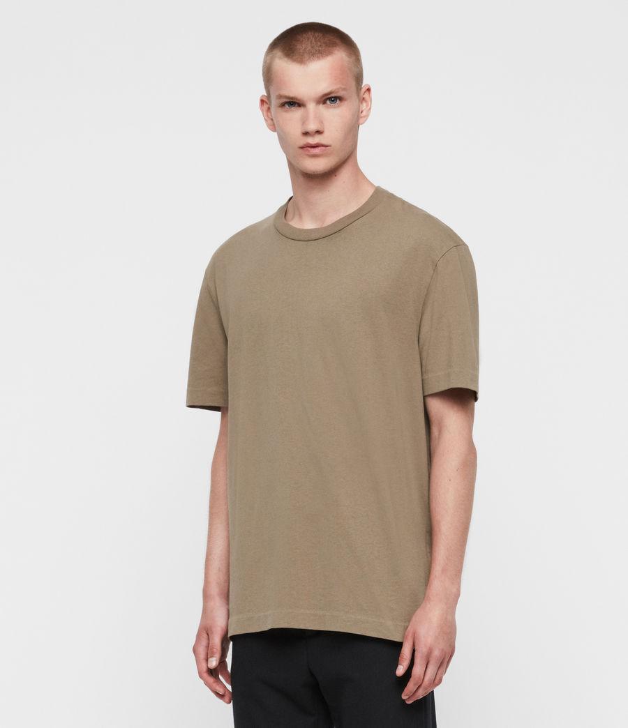 Men's Musica Crew T-shirt (beech_green) - Image 1