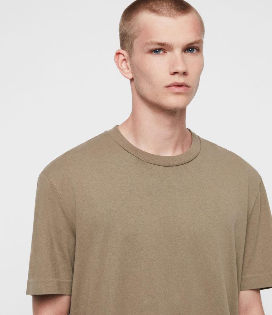 Men's Musica Crew T-shirt (beech_green) - Image 2