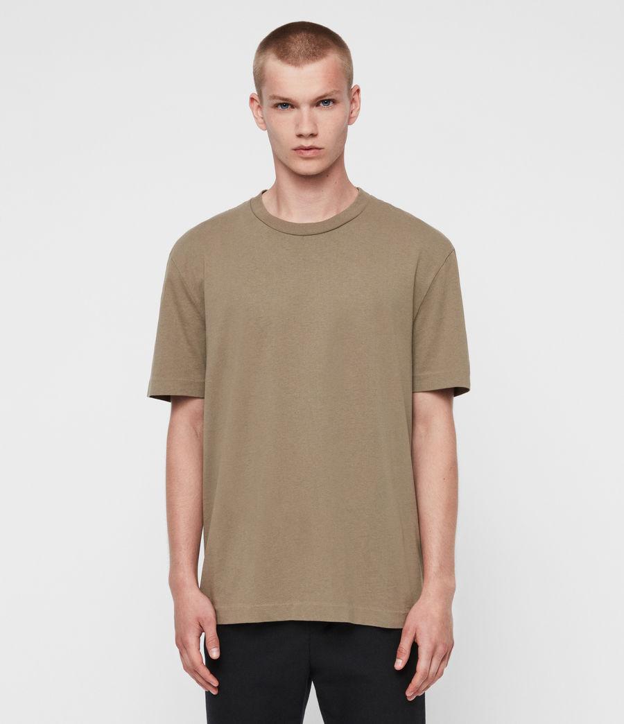 Men's Musica Crew T-shirt (beech_green) - Image 4