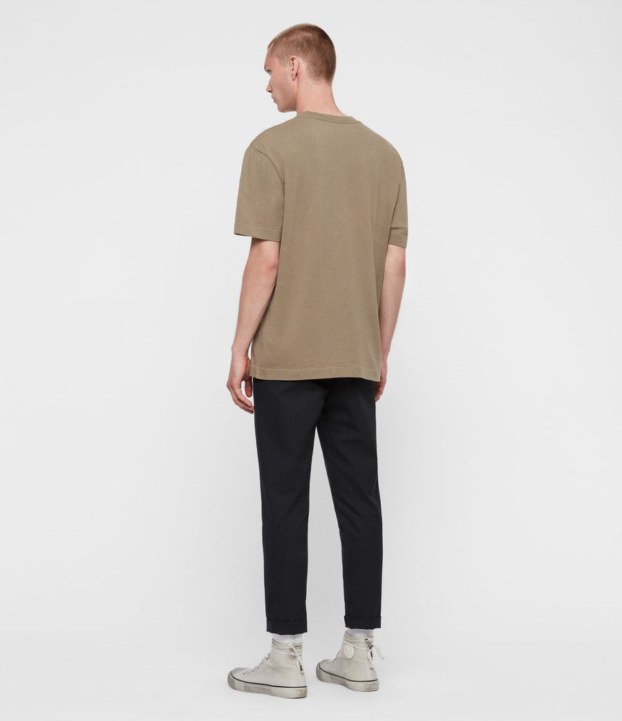 Men's Musica Crew T-shirt (beech_green) - Image 5