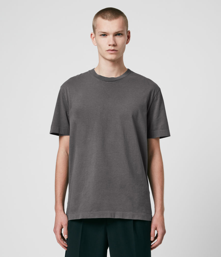 Men's Musica Crew T-Shirt (alp_grey) - Image 1