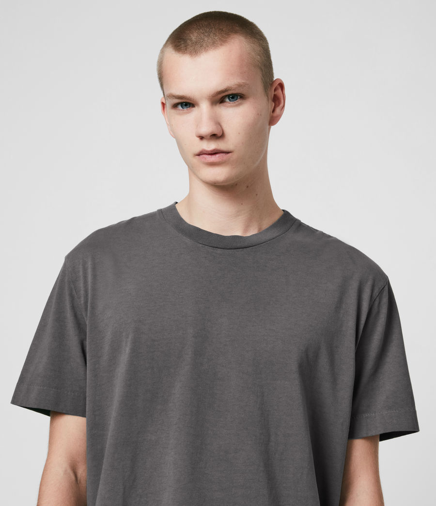Men's Musica Crew T-Shirt (washed_fresh_pink) - Image 2