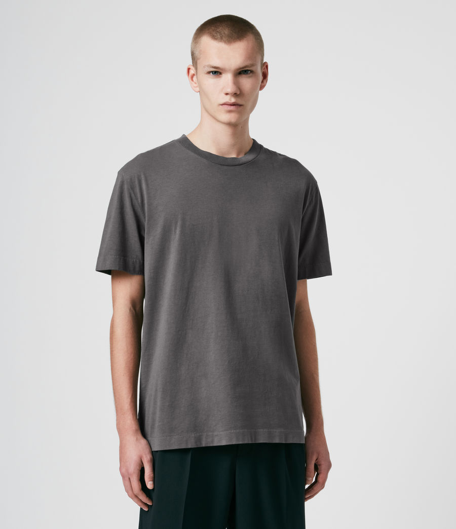 Men's Musica Crew T-Shirt (washed_fresh_pink) - Image 4
