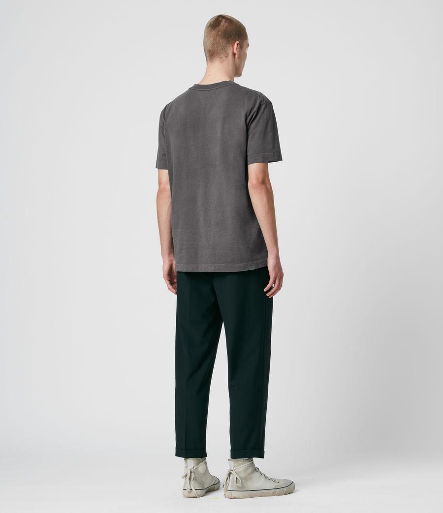 Men's Musica Crew T-Shirt (washed_fresh_pink) - Image 5