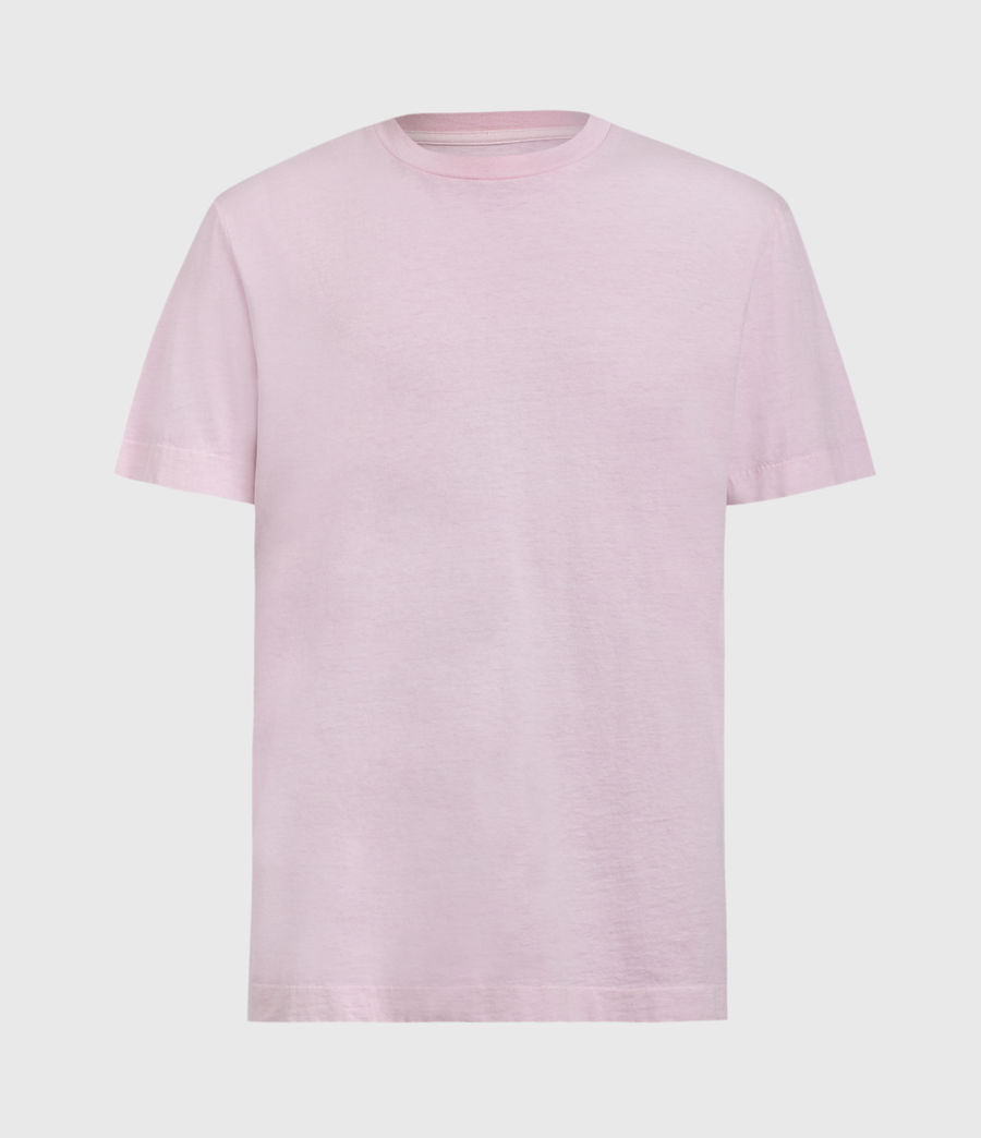 Men's Musica Crew T-Shirt (washed_fresh_pink) - Image 2