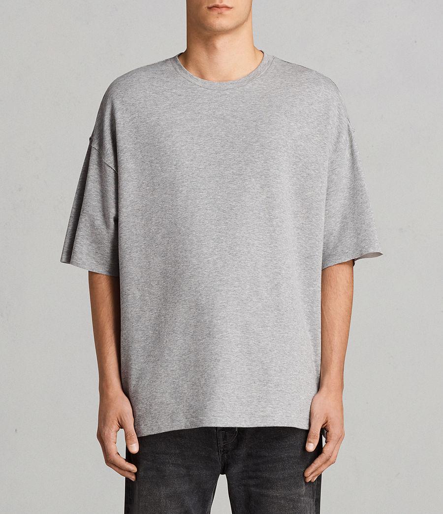 Hombre Camiseta de manga corta Torny Crew (grey_marl_cement) - Image 1