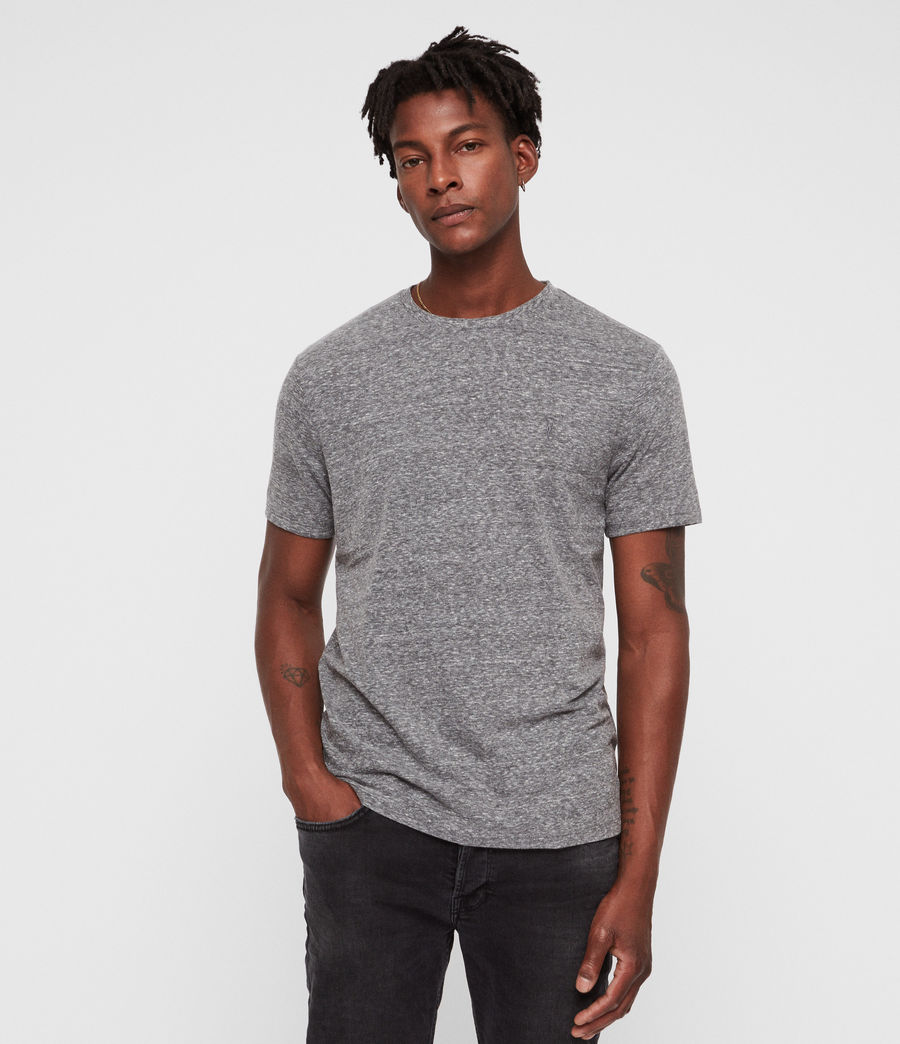 Men's Bray Crew T-Shirt (grey_mouline) - Image 1