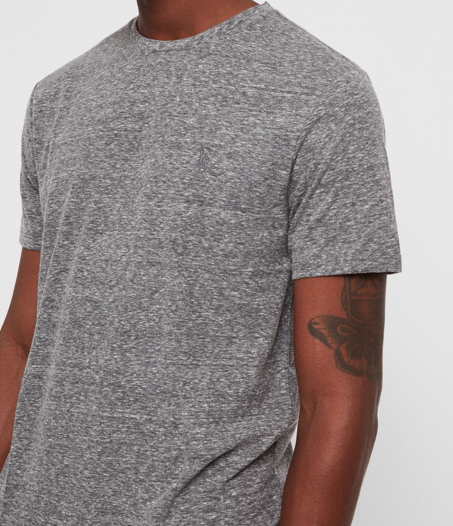 Men's Bray Crew T-Shirt (grey_mouline) - Image 2