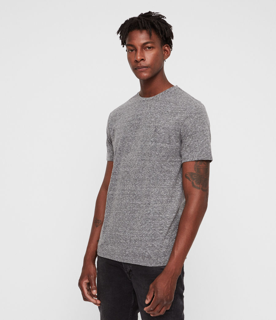 Men's Bray Crew T-Shirt (grey_mouline) - Image 4