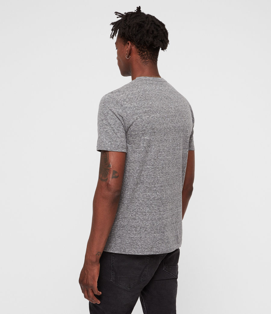 Men's Bray Crew T-Shirt (grey_mouline) - Image 5