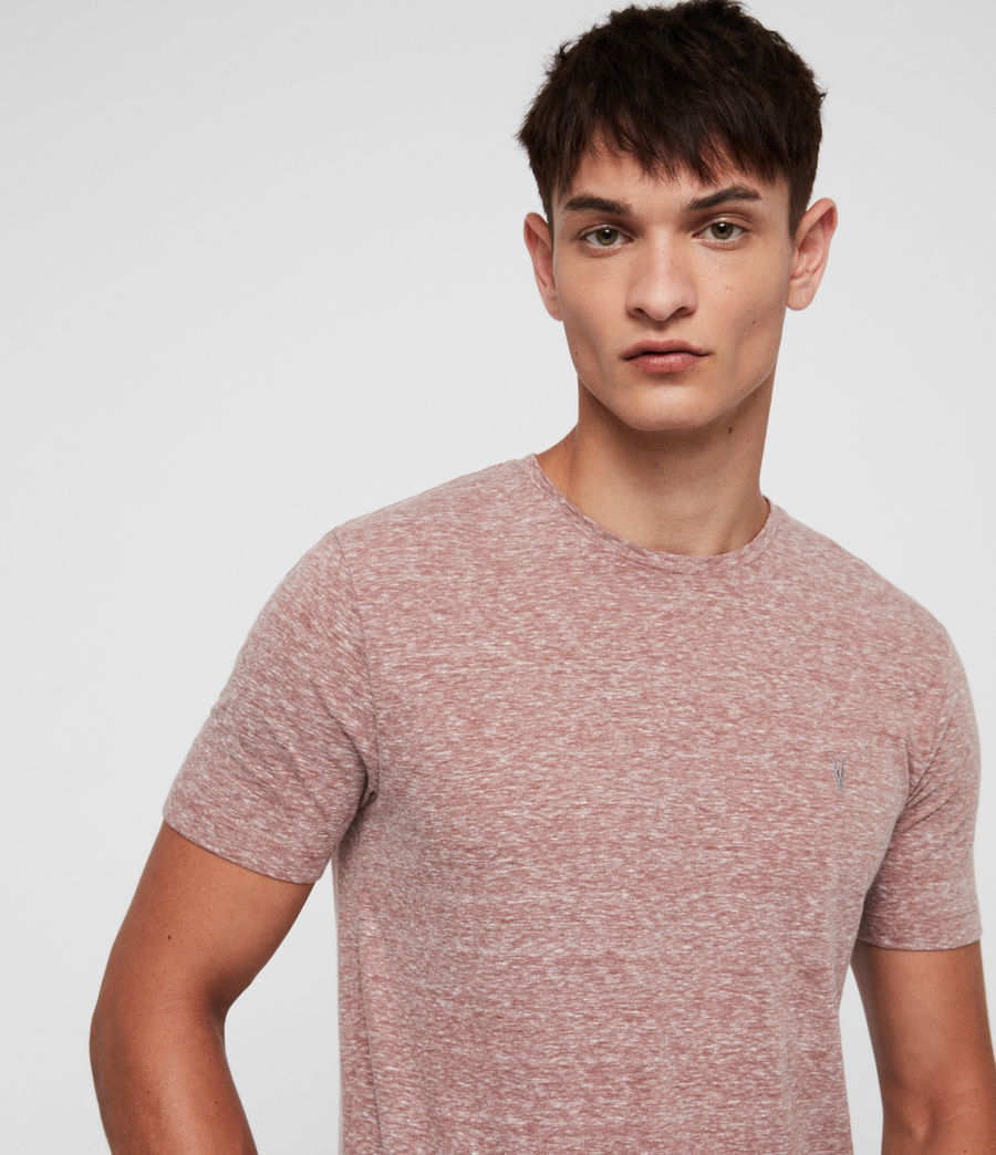 Men's Bray Crew T-Shirt (clay_red) - Image 1