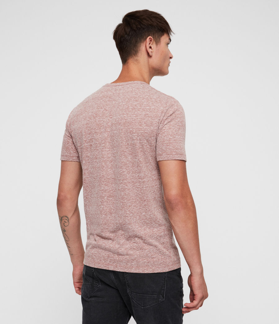 Men's Bray Crew T-Shirt (clay_red) - Image 3
