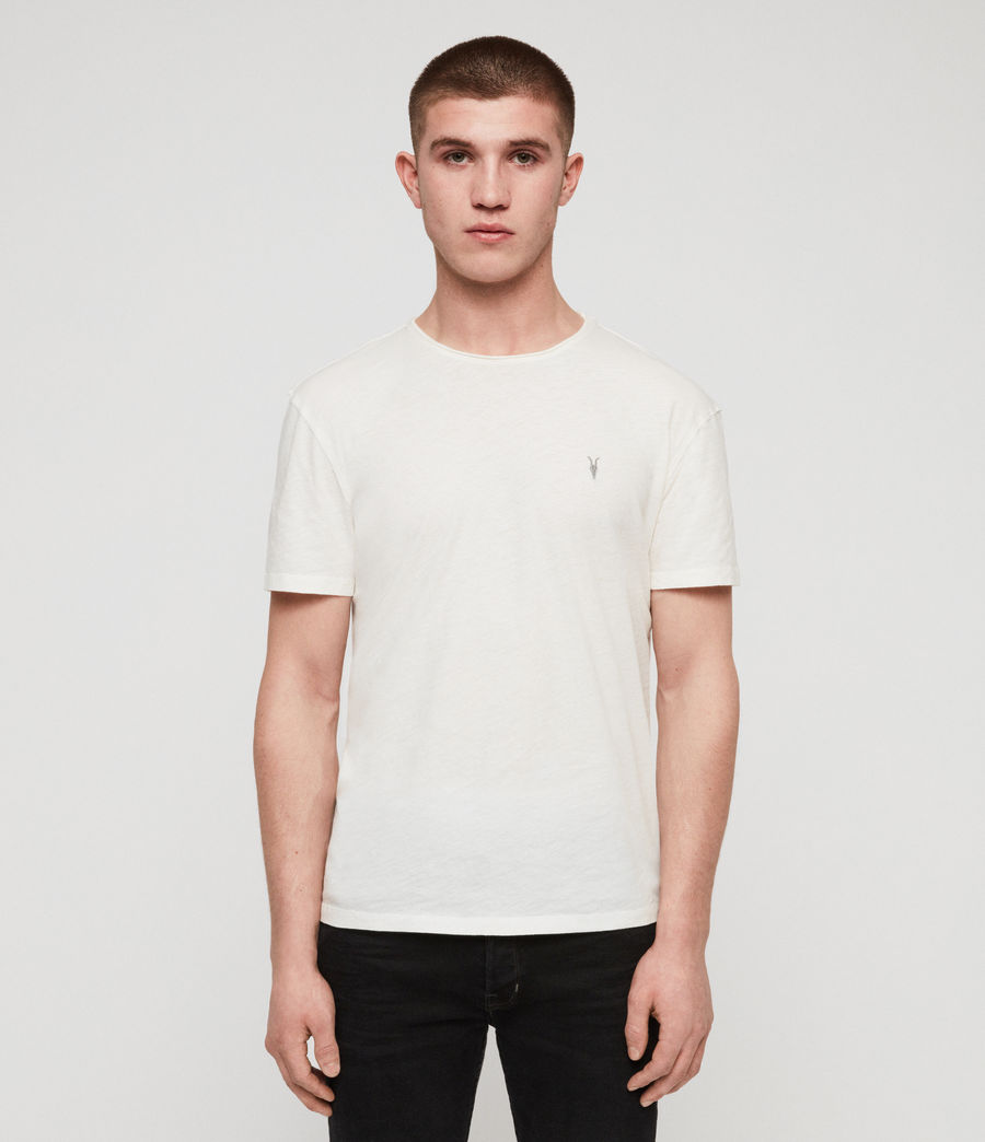 Men's Figma Crew T-Shirt (chalk_white) - Image 1