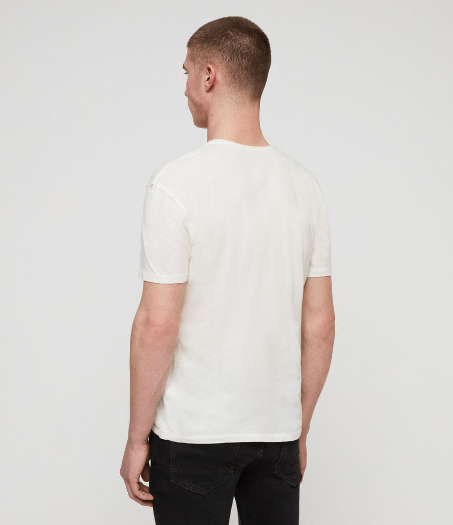Men's Figma Crew T-Shirt (chalk_white) - Image 4