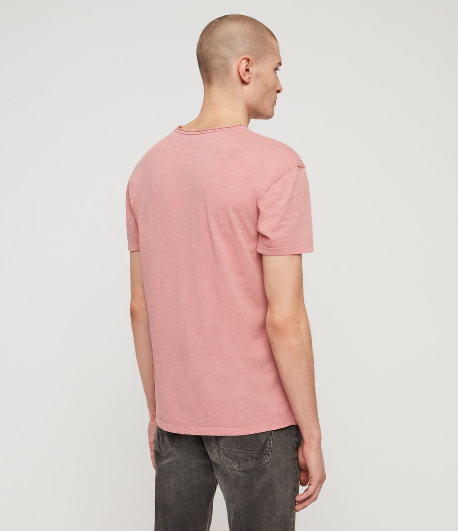 Hombres Camiseta Figma (moth_pink) - Image 5