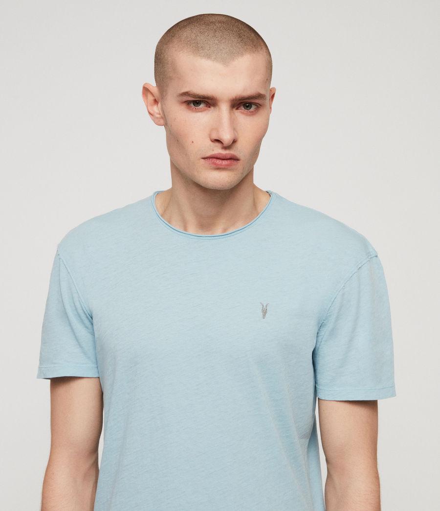 Mens Figma Crew T-Shirt (arbour_blue) - Image 2
