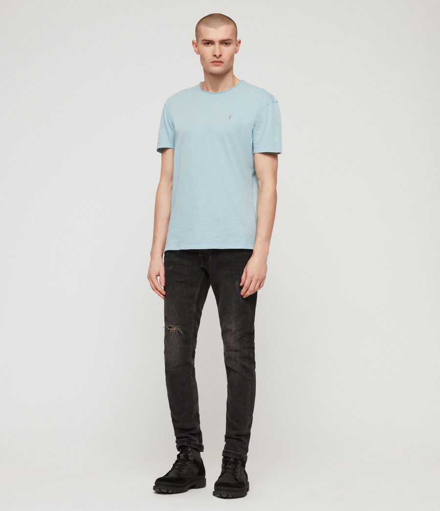Mens Figma Crew T-Shirt (arbour_blue) - Image 3