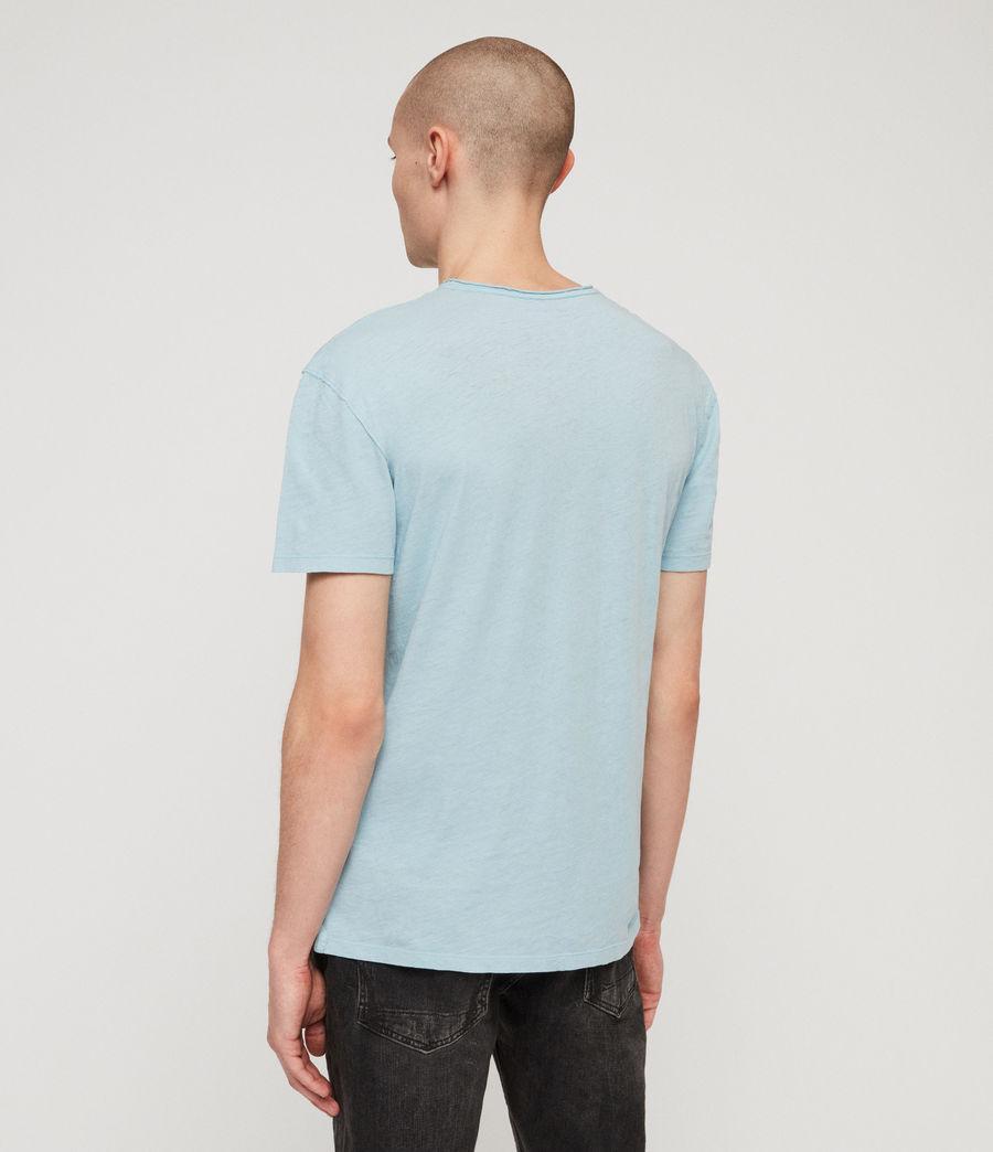 Mens Figma Crew T-Shirt (arbour_blue) - Image 5