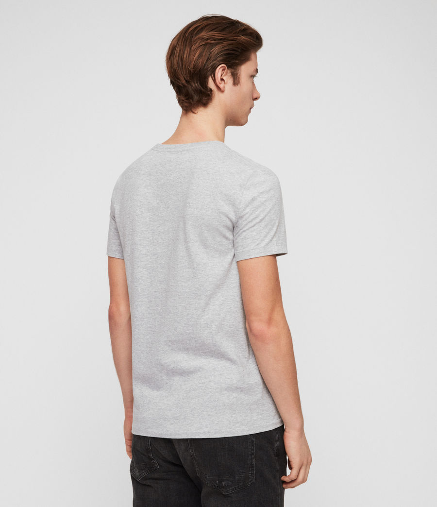 Men's Cooper Crew T-Shirt (grey_marl) - Image 4