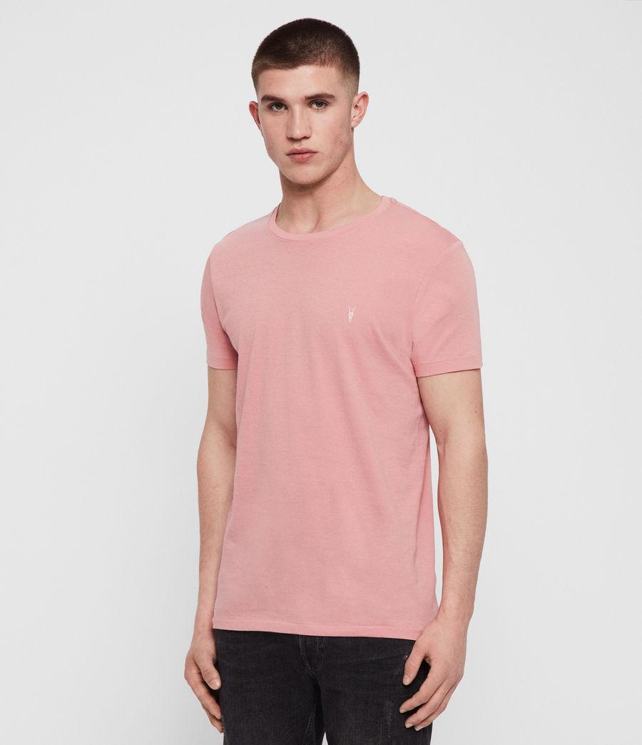 Mens Cooper Crew T-Shirt (pink) - Image 1