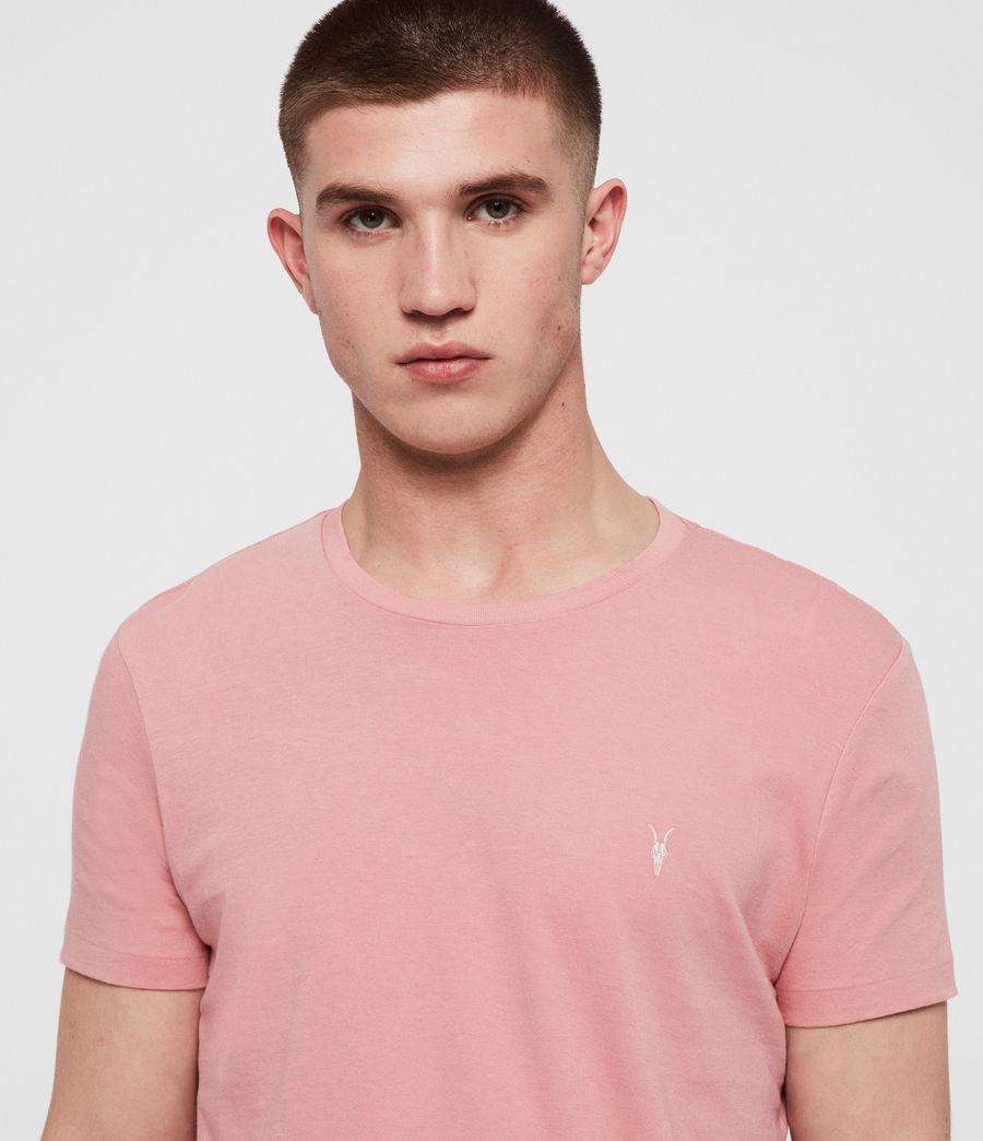 Men's Cooper Crew T-Shirt (pink) - Image 2