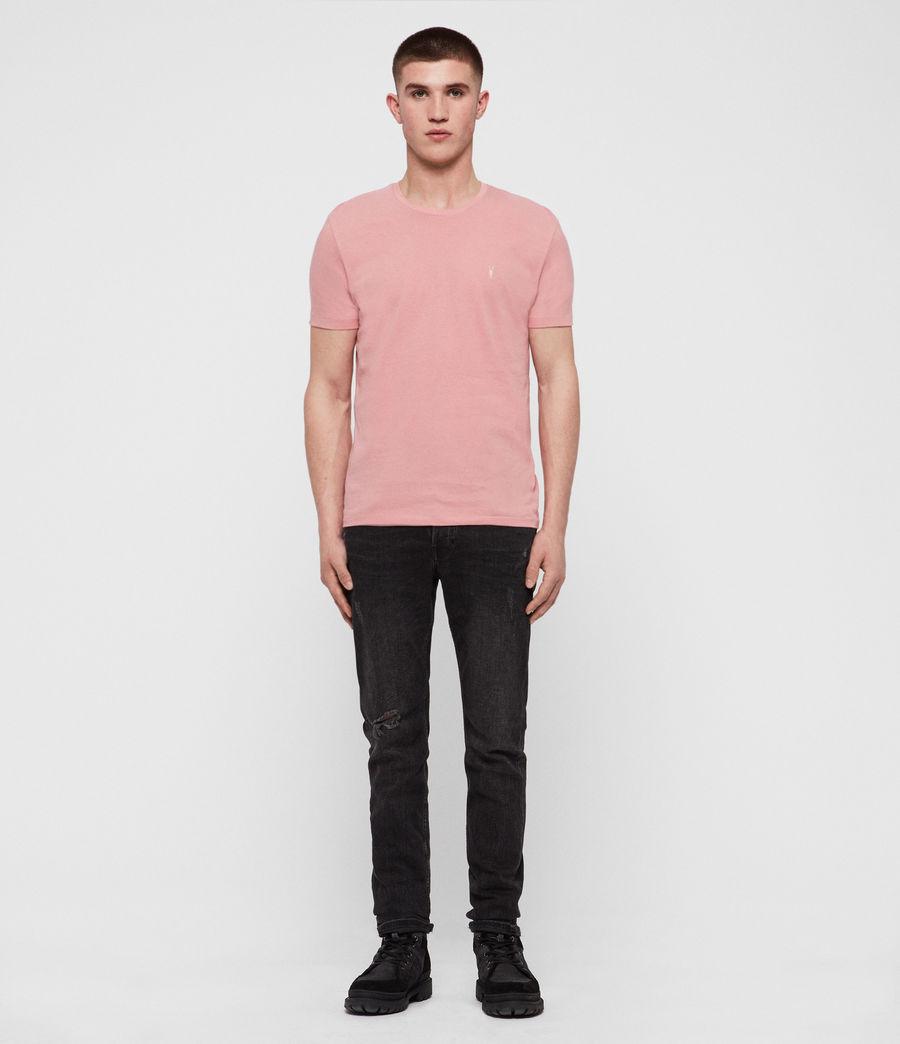 Mens Cooper Crew T-Shirt (pink) - Image 3