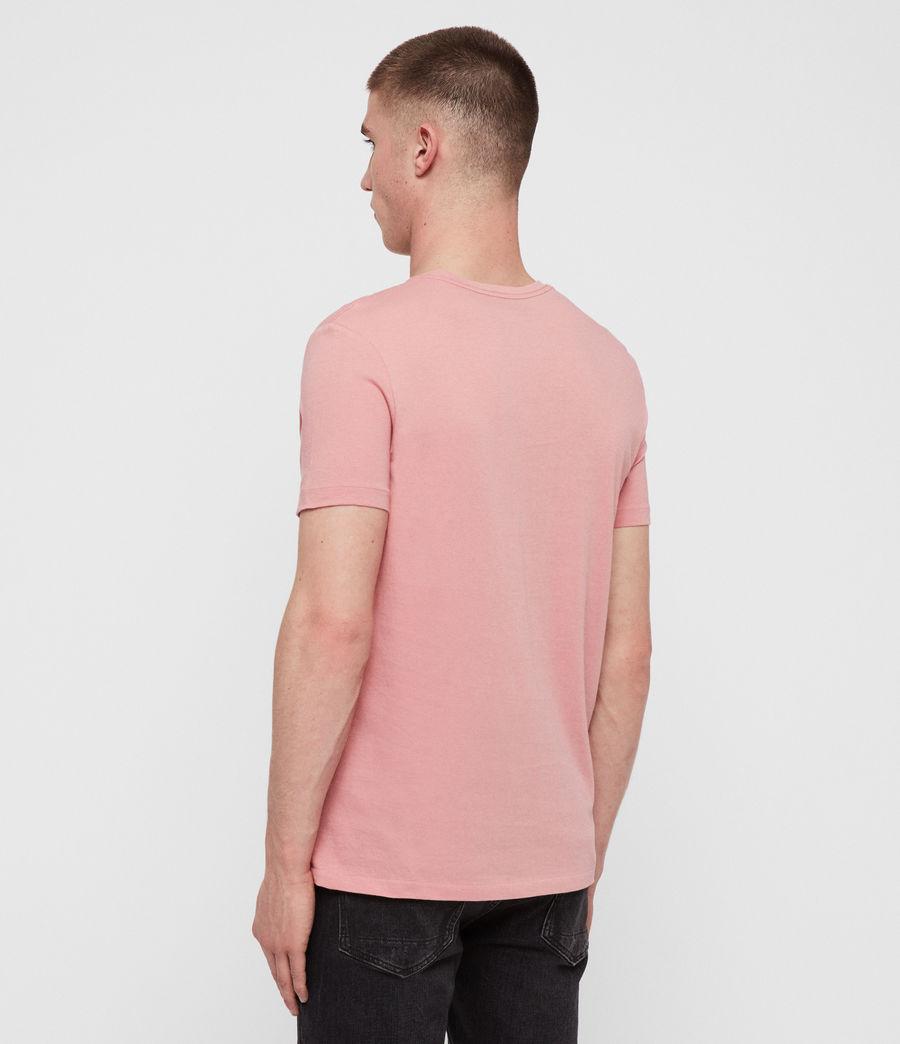 Mens Cooper Crew T-Shirt (pink) - Image 4