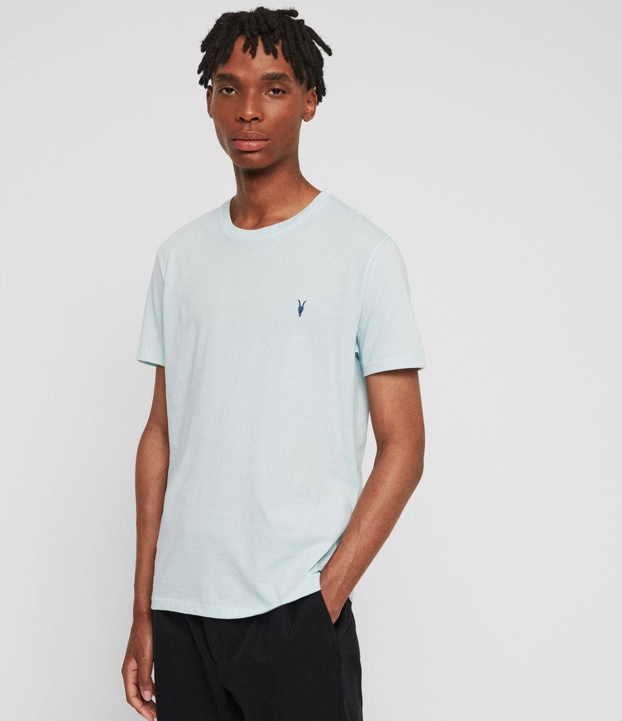 Mens Cooper Crew T-Shirt (aqua_blue) - Image 1