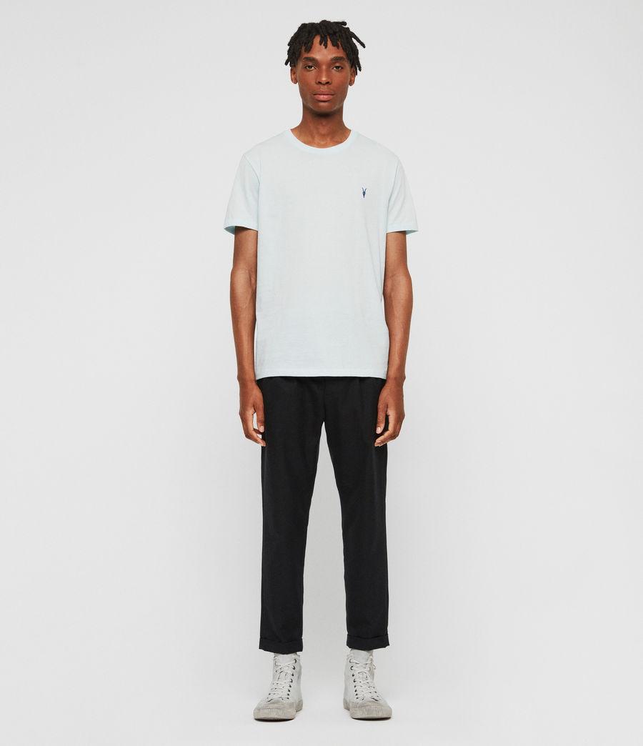 Mens Cooper Crew T-Shirt (aqua_blue) - Image 3