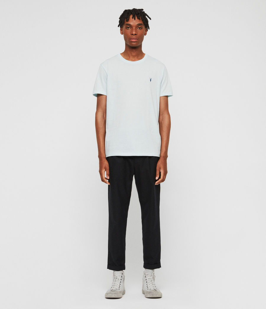 Uomo T-shirt Cooper (aqua_blue) - Image 3