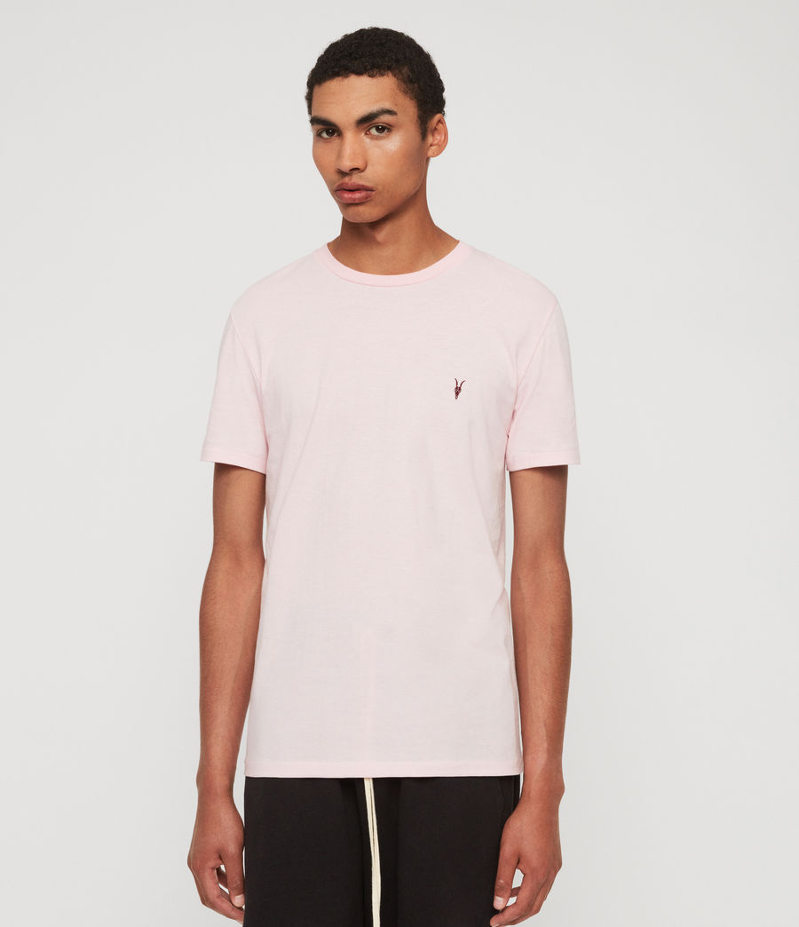 Hommes T-Shirt Cooper (mallow_pink_marl) - Image 1