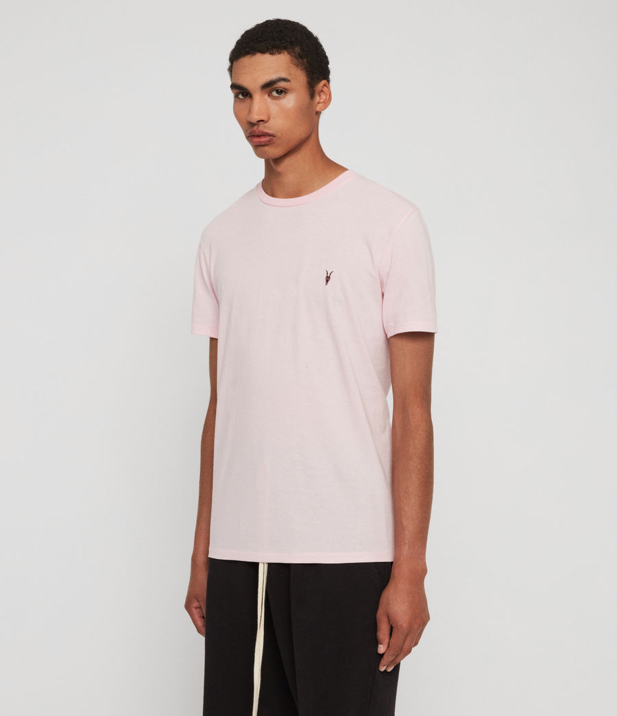 Hommes T-Shirt Cooper (mallow_pink_marl) - Image 4