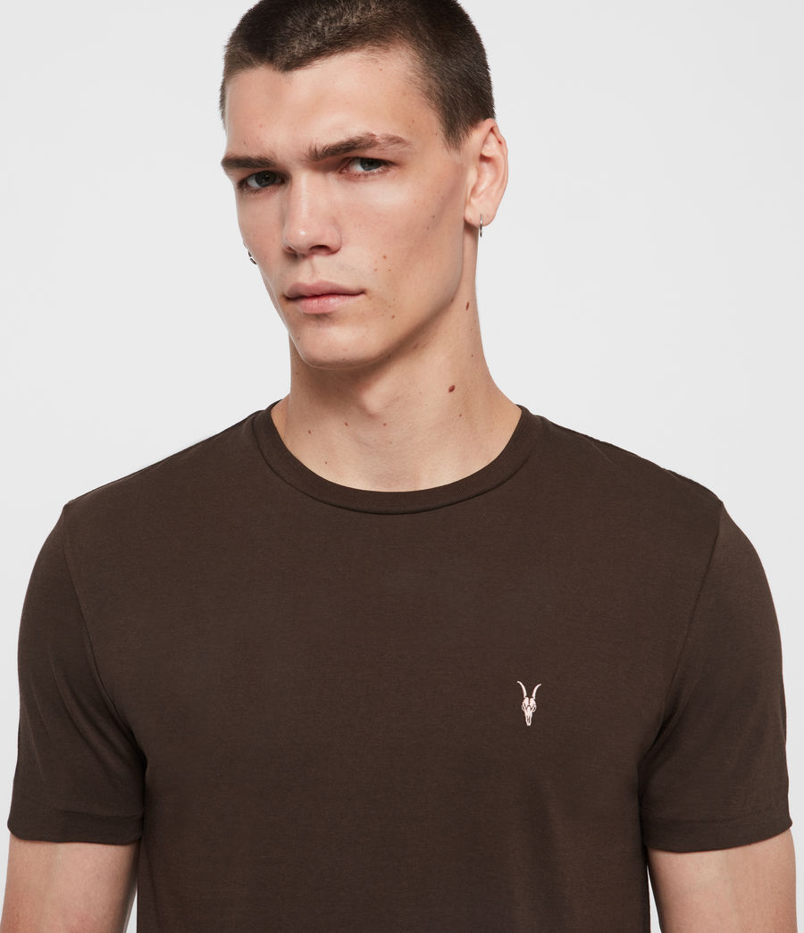 Hommes T-Shirt Cooper (cocoa_brown) - Image 2
