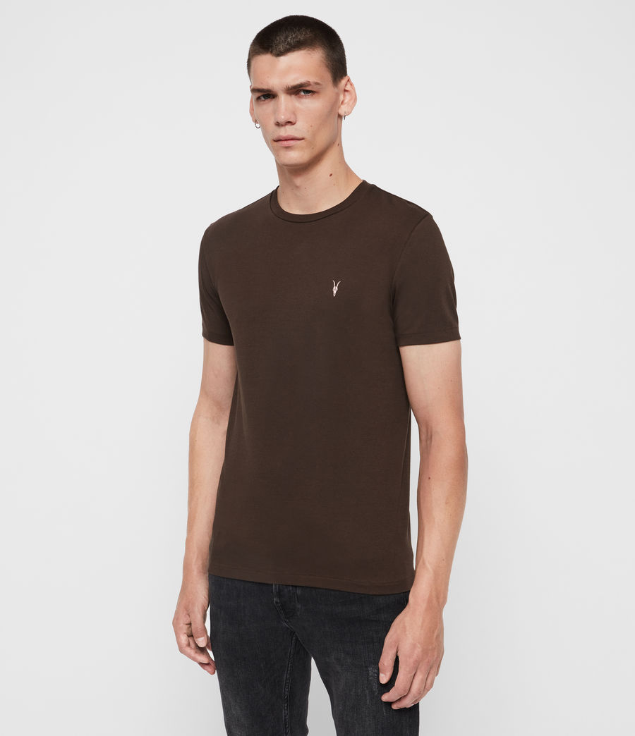 Hommes T-Shirt Cooper (cocoa_brown) - Image 3