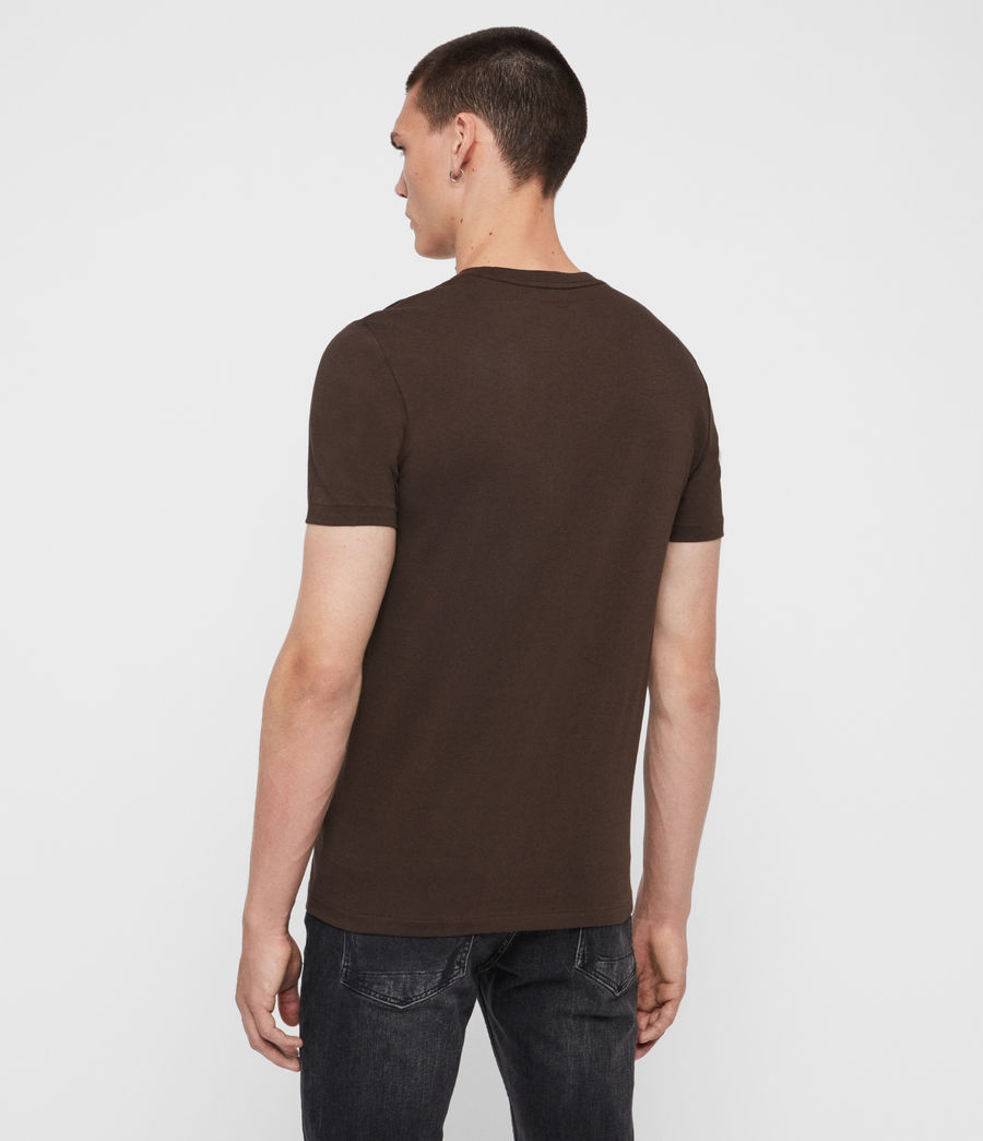 Hommes T-Shirt Cooper (cocoa_brown) - Image 4