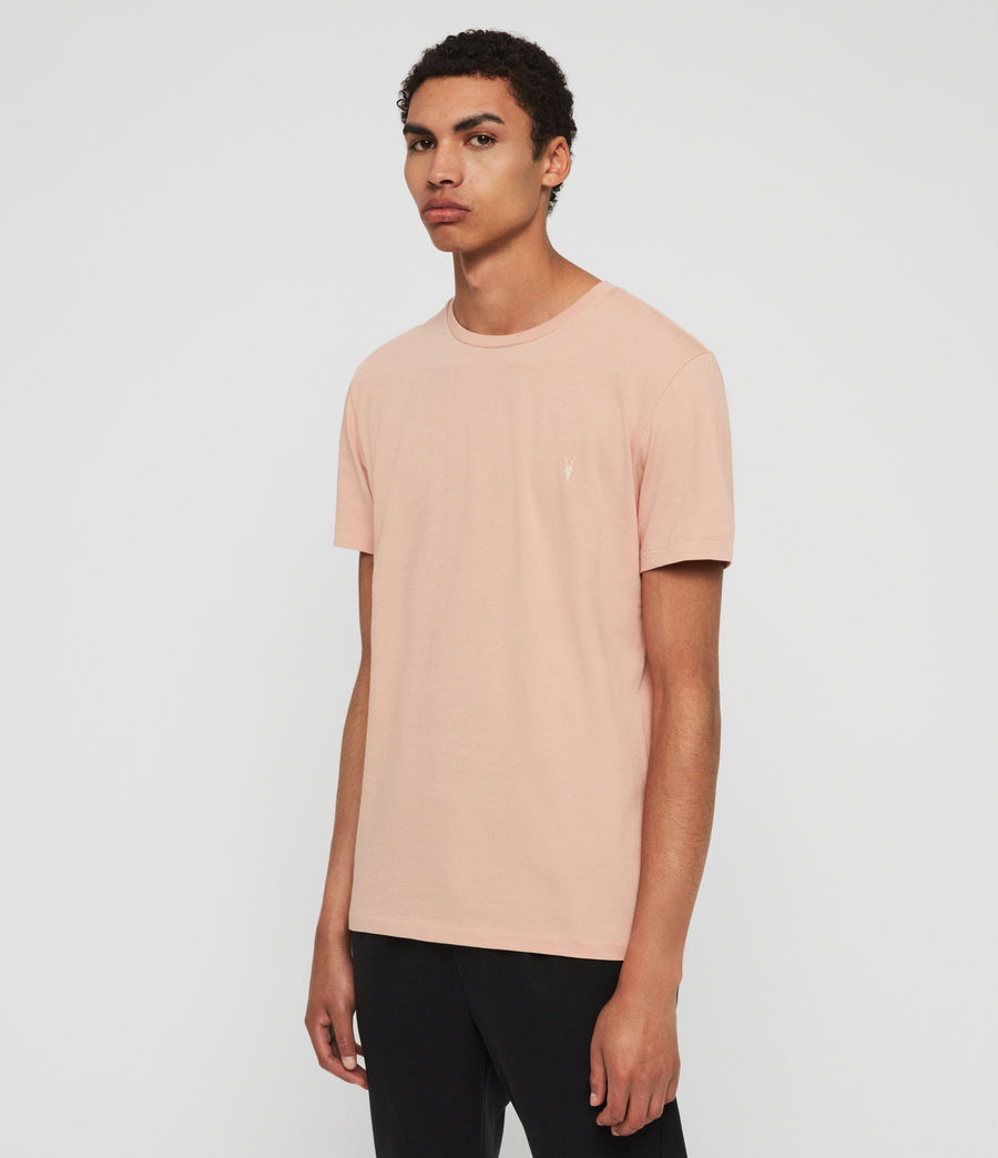 Men's Cooper Crew T-Shirt (optic_white) - Image 3