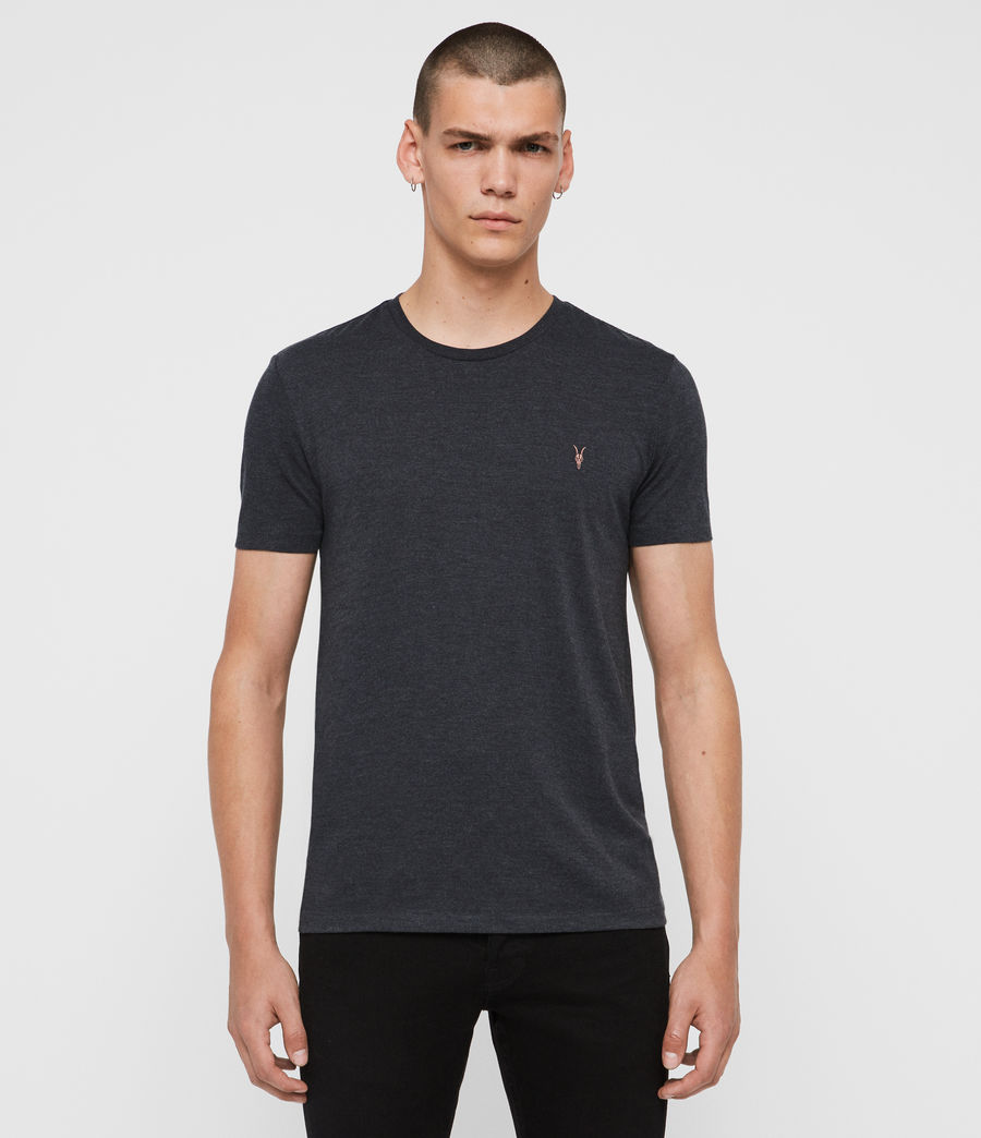 Men's Cooper Crew T-Shirt (washed_black) - Image 1