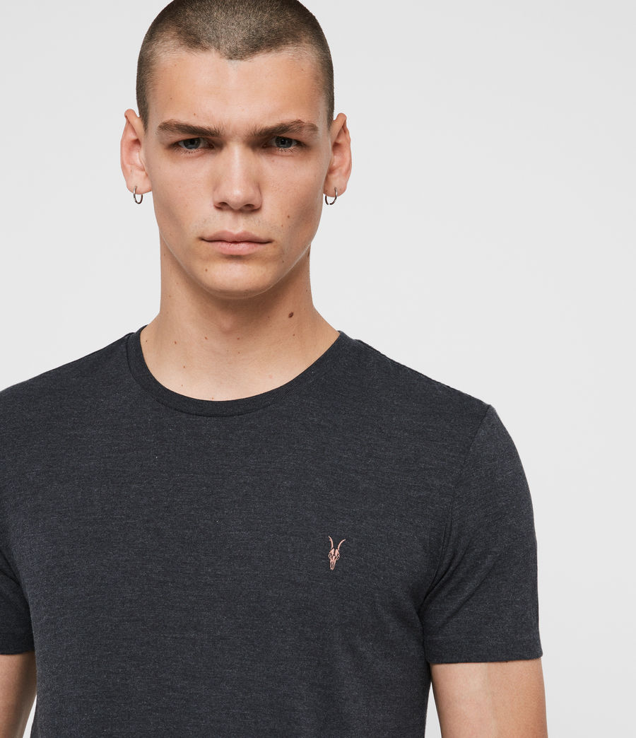 Uomo T-shirt Cooper - Slim in cotone con logo (optic_white) - Image 2