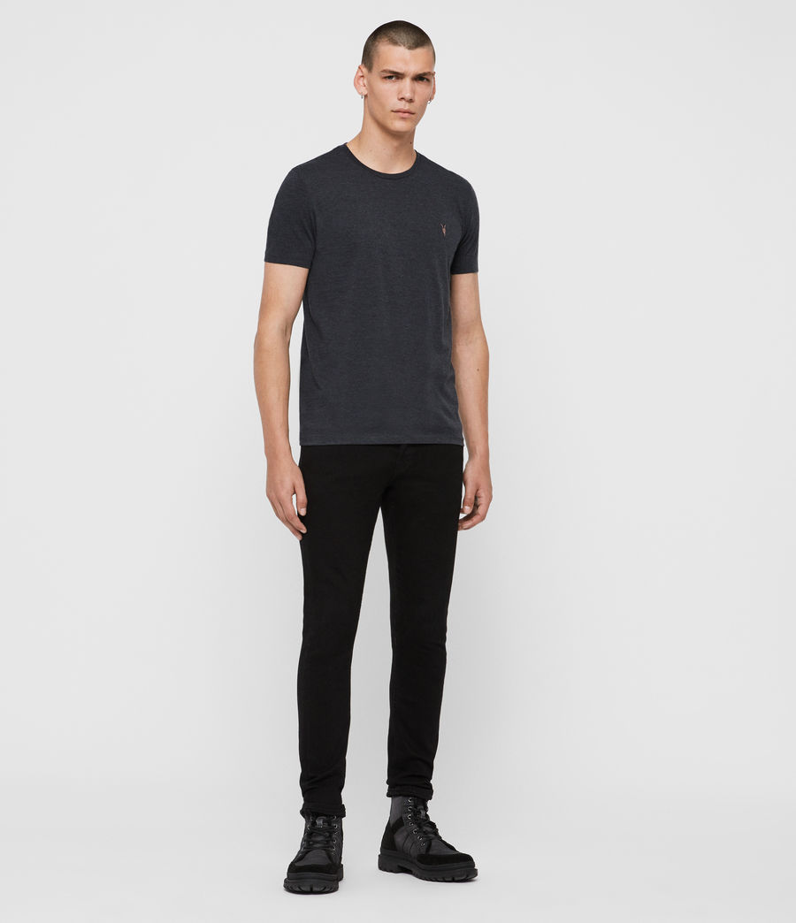 Men's Cooper Crew T-Shirt (washed_black) - Image 3