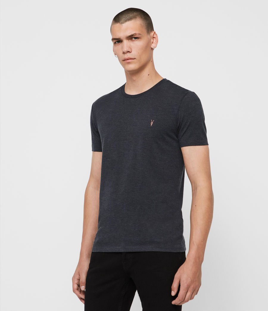 Men's Cooper Crew T-Shirt (washed_black) - Image 4