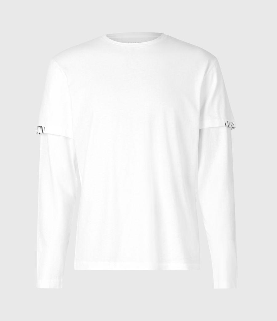 Herren Haven Langarmshirt (optic_white) - Image 2