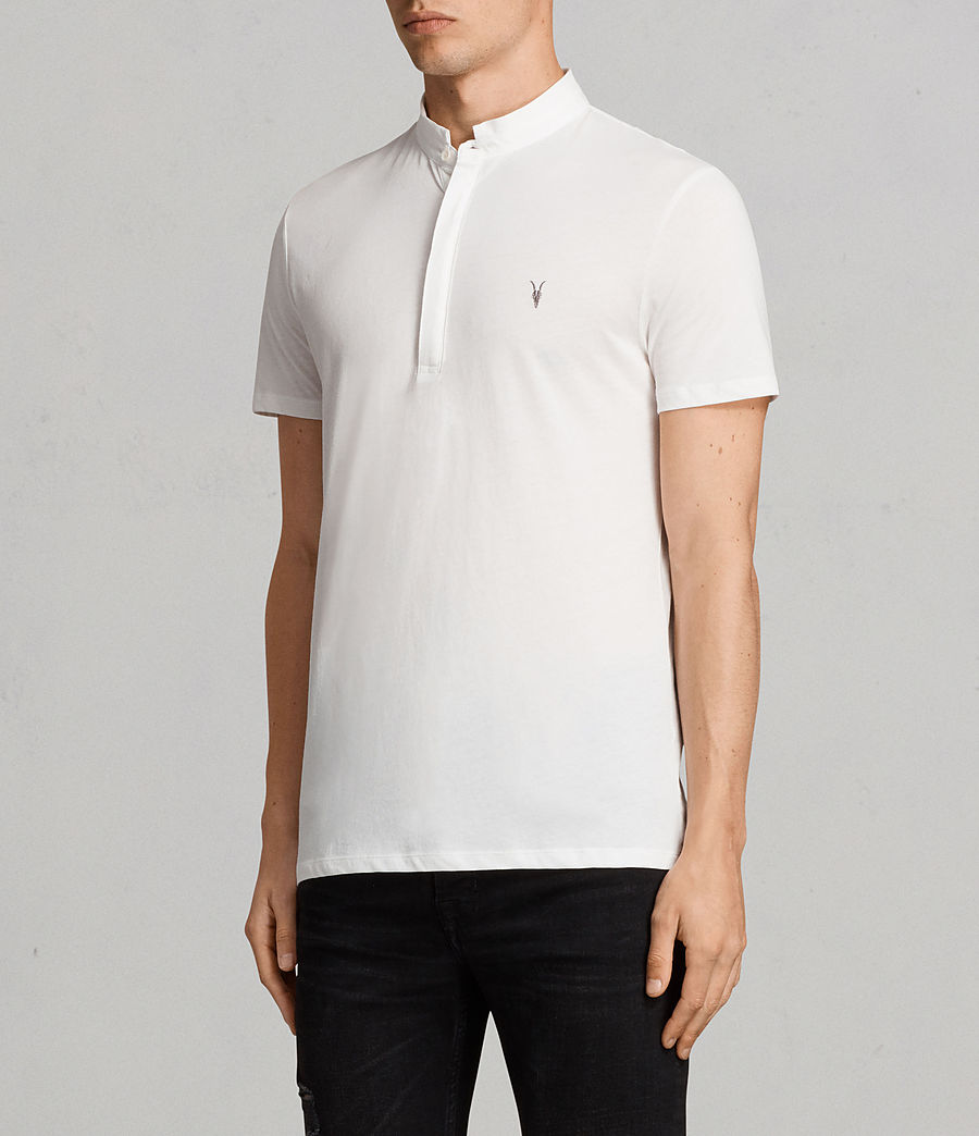 Mens Grail Polo Shirt (chalk_white) - Image 3